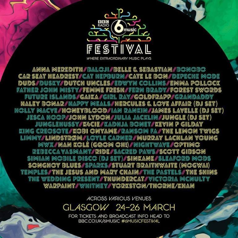 BBC6 Music fest 2017
