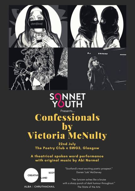 Confessionals Glasgow poster